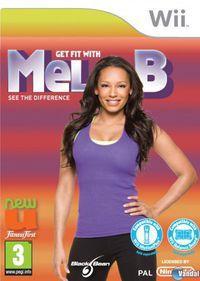 Portada oficial de Get Fit With Mel B para Wii