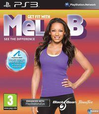 Portada oficial de Get Fit With Mel B para PS3