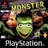 Portada oficial de Muppets Monster Adventure para PS One