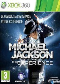 Portada oficial de Michael Jackson: The Experience para Xbox 360