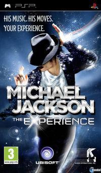 Portada oficial de Michael Jackson para PSP