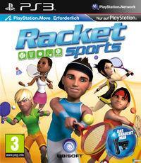 Portada oficial de Racquet Sports para PS3