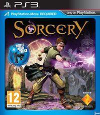 Portada oficial de Sorcery para PS3