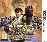 Portada oficial de Super Street Fighter IV 3D Edition para Nintendo 3DS
