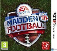 Portada oficial de Madden NFL 3DS para Nintendo 3DS