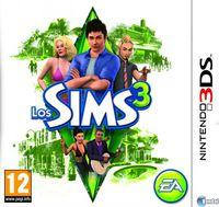 Portada oficial de Los Sims 3 3DS para Nintendo 3DS