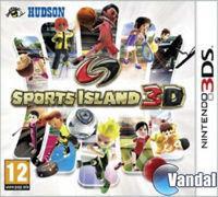 Portada oficial de Sports Island 3D para Nintendo 3DS