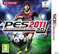 Portada oficial de Pro Evolution Soccer 2011 3D para Nintendo 3DS