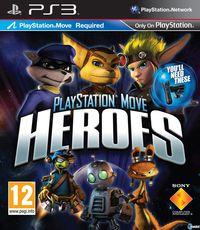 Portada oficial de PlayStation Move Heroes para PS3