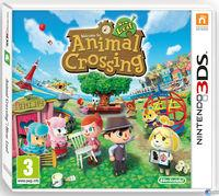Portada oficial de Animal Crossing: New Leaf para Nintendo 3DS