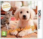 Portada oficial de de Nintendogs + Cats para Nintendo 3DS