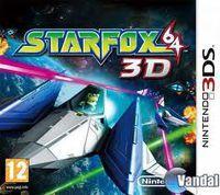 Portada oficial de Star Fox 64 3D para Nintendo 3DS