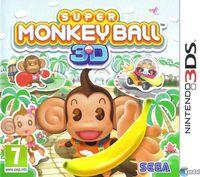 Portada oficial de Super Monkey Ball para Nintendo 3DS