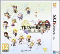 Portada oficial de Theatrhythm Final Fantasy para Nintendo 3DS