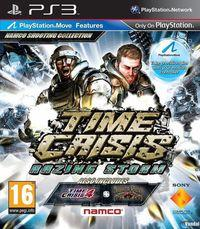 Portada oficial de Time Crisis: Razing Storm para PS3