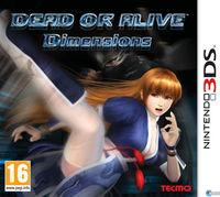 Portada oficial de Dead or Alive: Dimensions para Nintendo 3DS