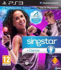 Portada oficial de Singstar Dance para PS3