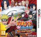 Portada oficial de de Naruto Shippuden 3D – The New Era para Nintendo 3DS