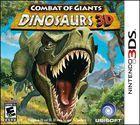 Portada oficial de de Combate de Gigantes: Dinosaurios 3D para Nintendo 3DS