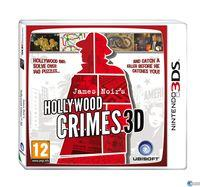 Portada oficial de James Noir's Hollywood Crimes 3D para Nintendo 3DS