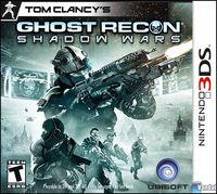 Portada oficial de Tom Clancy's Ghost Recon Shadow Wars para Nintendo 3DS