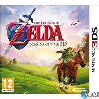 Portada oficial de The Legend of Zelda: Ocarina of Time 3D para Nintendo 3DS