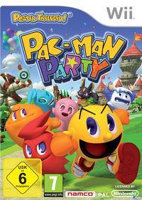 Portada oficial de PAC-MAN Party para Wii