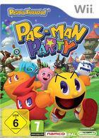 Portada oficial de de PAC-MAN Party para Wii