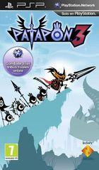 Portada oficial de de Patapon 3 para PSP