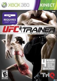 Portada oficial de UFC Personal Trainer para Xbox 360