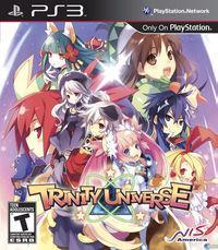 Portada oficial de Trinity Universe para PS3