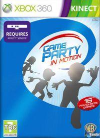 Portada oficial de Game Party: In Motion para Xbox 360