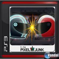 Portada oficial de PixelJunk Racers 2nd Lap PSN para PS3