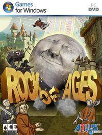 Portada oficial de Rock of Ages para PC
