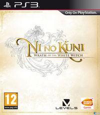 Portada oficial de Ni no Kuni: La ira de la Bruja Blanca para PS3
