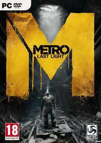 Portada oficial de Metro: Last Light para PC