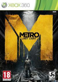 Portada oficial de Metro: Last Light para Xbox 360
