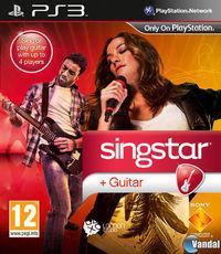 Portada oficial de Singstar Guitar para PS3