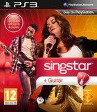 Portada oficial de de Singstar Guitar para PS3