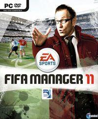Portada oficial de FIFA Manager 11 para PC
