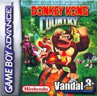 Portada oficial de Donkey Kong Country para Game Boy Advance