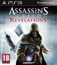 Portada oficial de Assassin's Creed Revelations para PS3