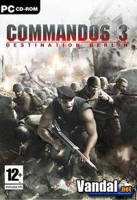 Portada oficial de Commandos 3 para PC