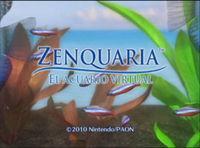 Portada oficial de Zenquaria: El acuario virtual WiiW para Wii