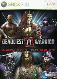 Portada oficial de Deadliest Warrior XBLA para Xbox 360