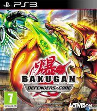Portada oficial de Bakugan Defensores de la Tierra para PS3