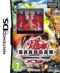 Portada oficial de Bakugan Defensores de la Tierra para NDS