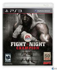 Portada oficial de Fight Night Champion para PS3