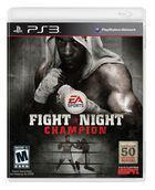 Portada oficial de de Fight Night Champion para PS3
