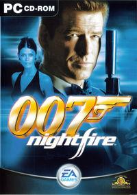 Portada oficial de 007: Nightfire para PC